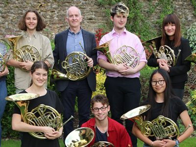 French Horn Masterclass with Richard Bissill