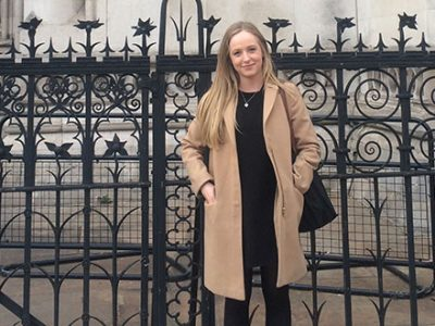 Visit to Matrix barristers' chambers in London