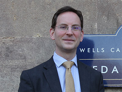 Alastair Tighe, Head Master of Wells Cathedral School