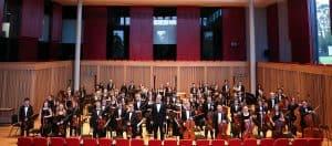 Symphony Orchestra rehearsal