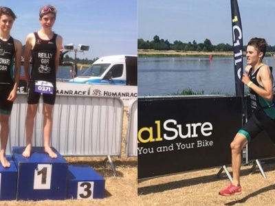 GB Triathlon Team for Wells student