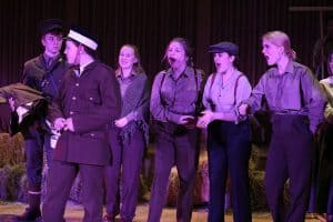 Private Peaceful Production
