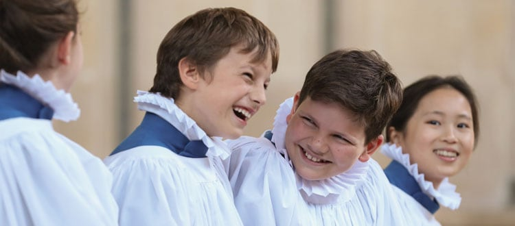 Friendships at Our Chorister School