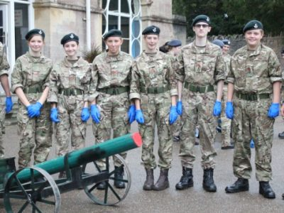 CCF at Wells Private Sixth Form College and Independent Senior School