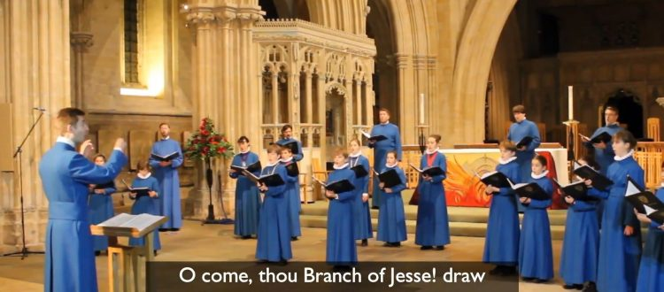 Advent Service with Wells Choristers