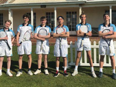 First Team Tennis - Queen's Taunton