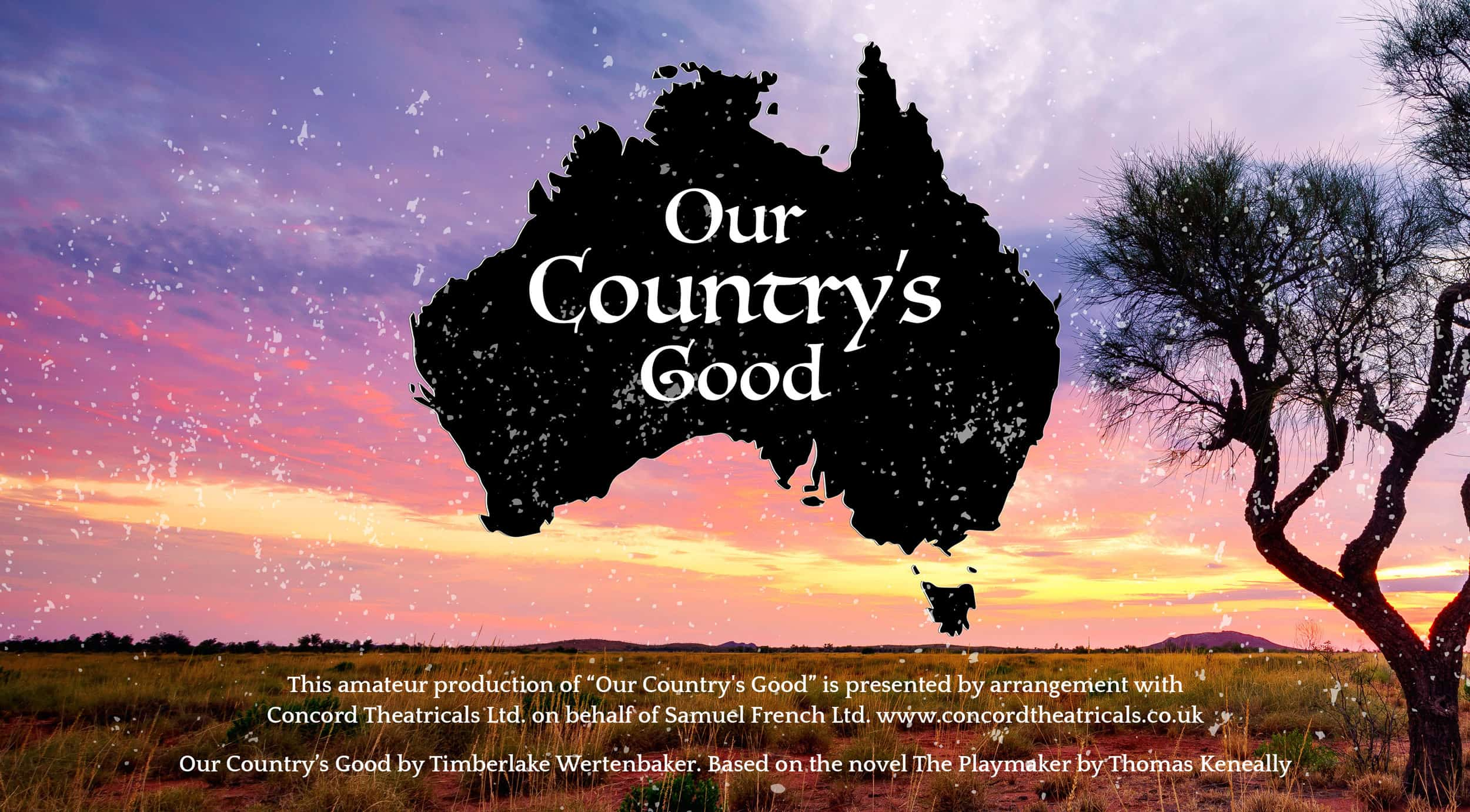 Our Country's Good: Drama Production logo