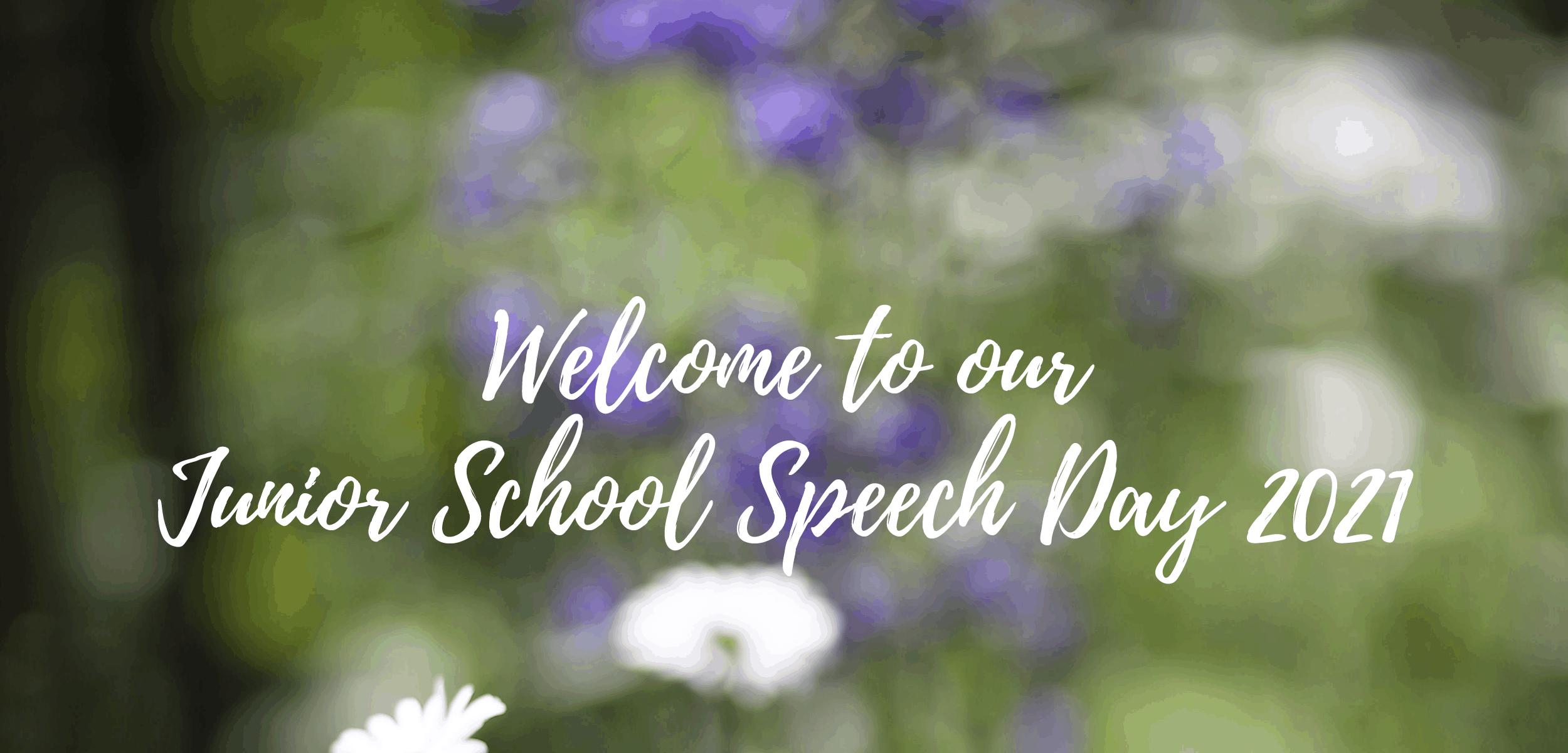 Junior School Speech Day Cover
