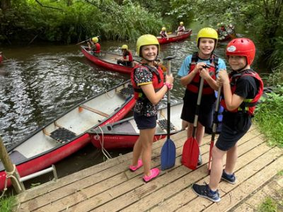 Year 7 trip to Mill on Brue Outdoor Activity Centre