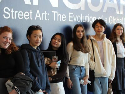A Level Art trip to Bristol from our Independent school in Somerset