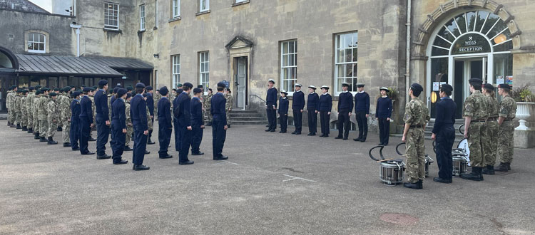 CCF Biennial Inspection at our private school in Somerset