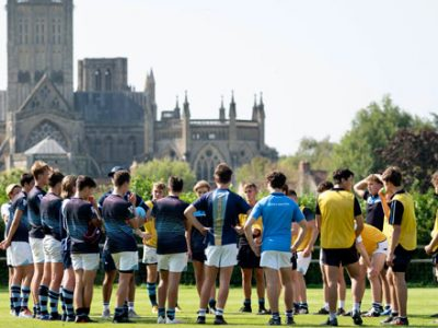 Rugby at our Independent School in Somerset